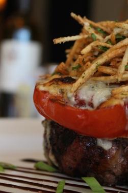 Heirloom Tomato and Gorgonzola Filet